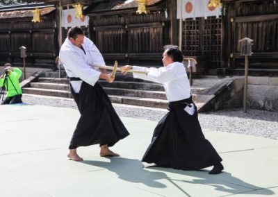 Hong-gu Taisha Demonstration