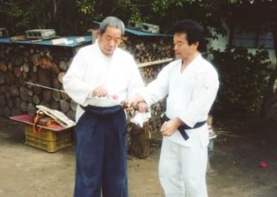Saito Sensei & Takayasu Sensei