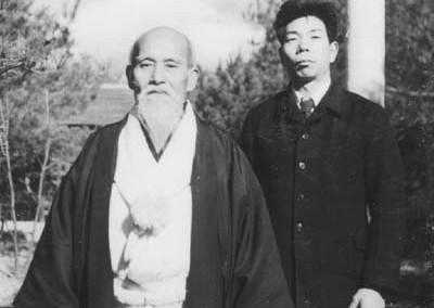 O-Sensei & Saito Sensei #1